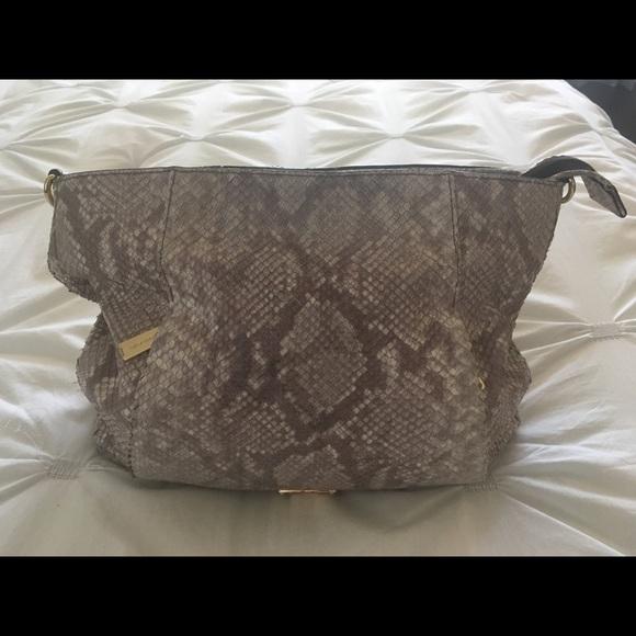 Michael Kors Handbags - 🌺Genuine Michael Kors snake skin handbag🌺